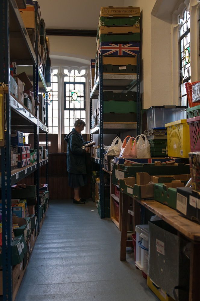 Stores at Poole Food Bank