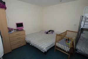 Beds and cot