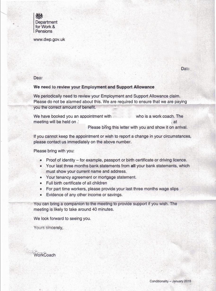 Sowhich Political Party Will Stop This State Harassment Of People - Esa letter template