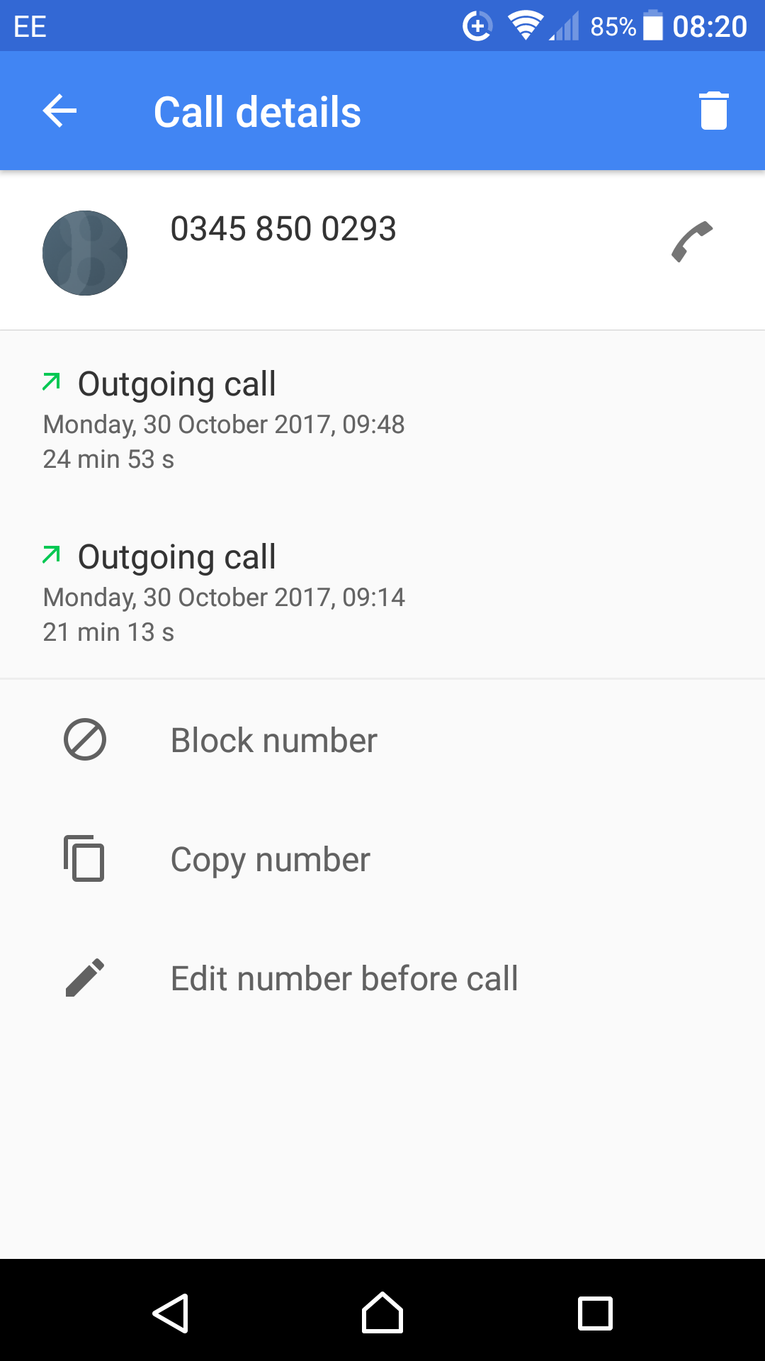 Total of 40 minutes and more on hold to the DWP's Universal